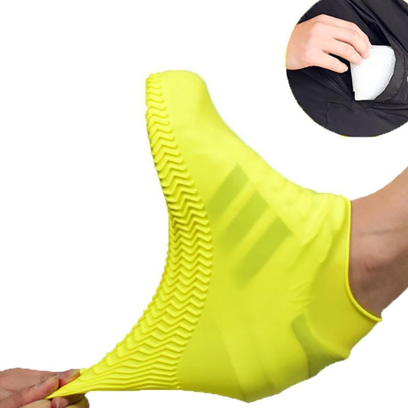 Waterproof  Silicone Shoe Cover Boots - boomany