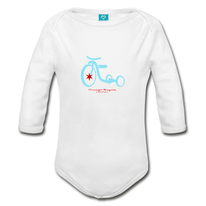 CBC Tricycle Onesie - white