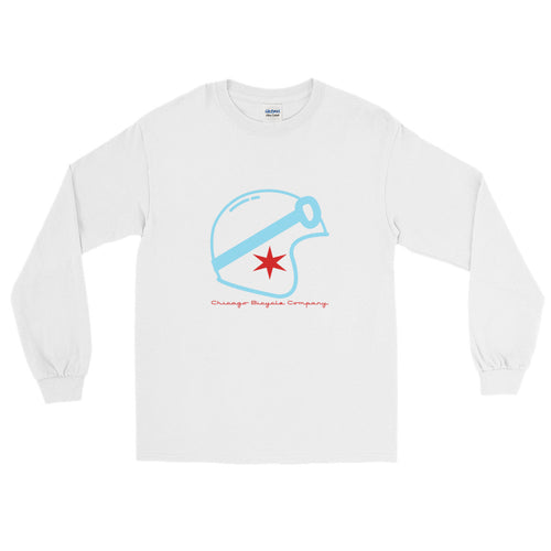 White Speed Racer Long Sleeve T-Shirt