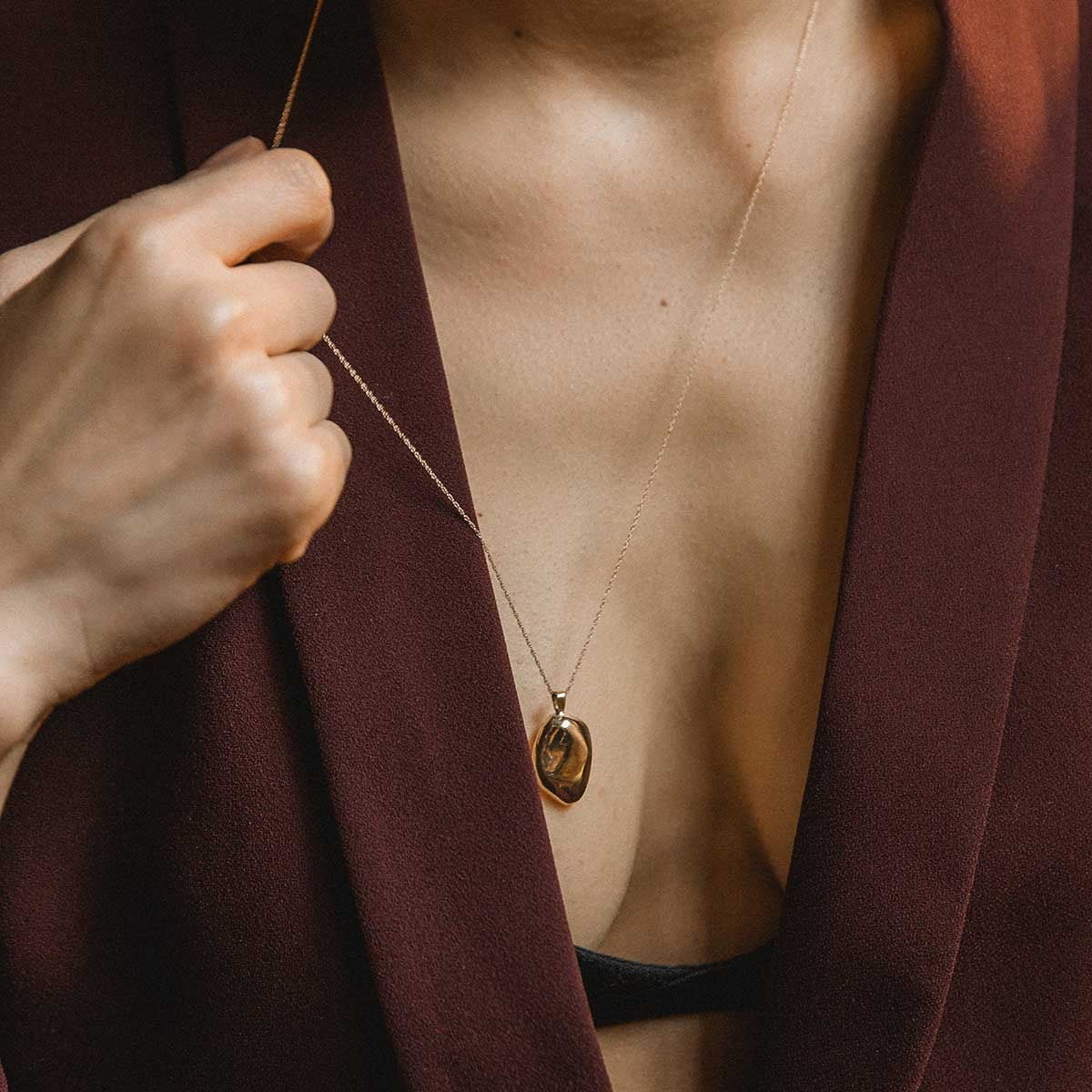 Minimalist Pendant Charm Necklace