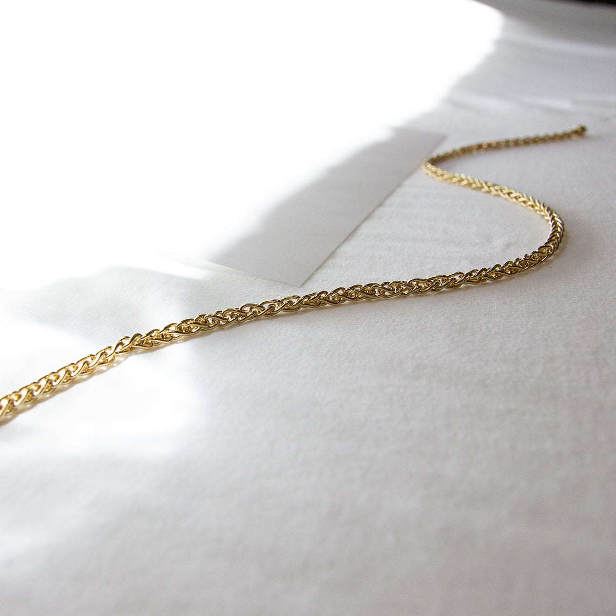 Kat Wheat Chain Necklace