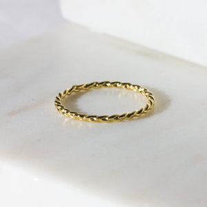 Blake Braided Ring