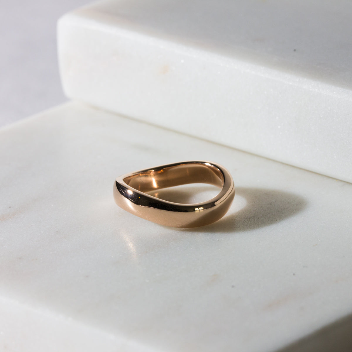 Charlotte Bold Wave Ring