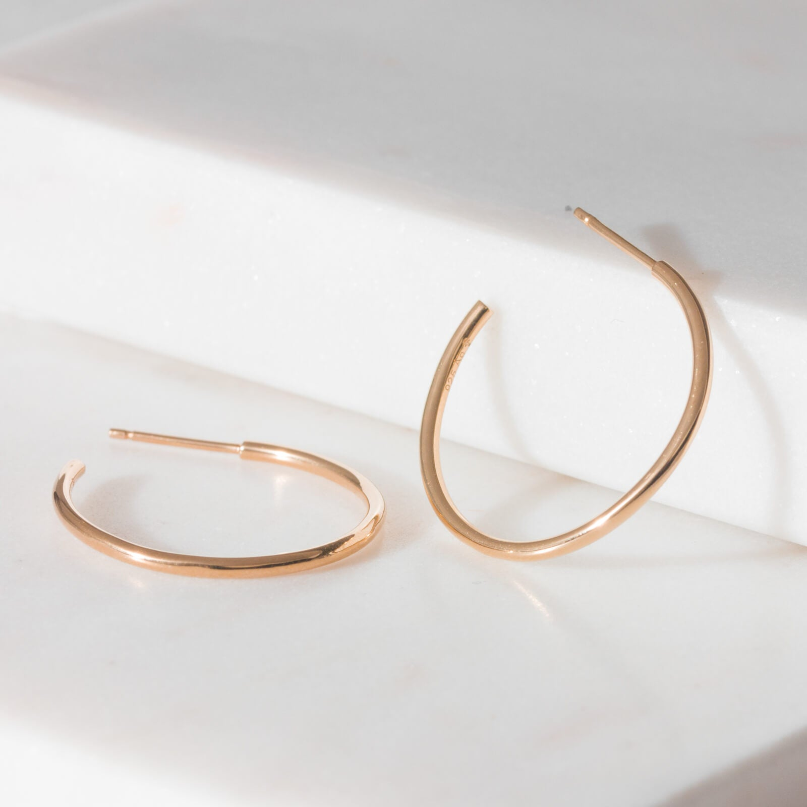 Sabine Medium Hoops