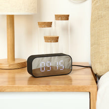 Load image into Gallery viewer, Wireless Bluetooth Speaker + Alarm Clock