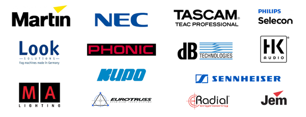 Industry Production Brands for Special Effect & Stage Lighting Equipment & Sound Equipment