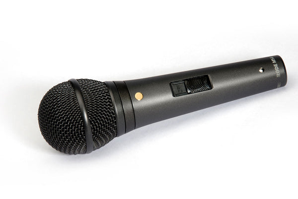 Rode M1-S Live Performance Dynamic Microphone with Lockable Switch - new!