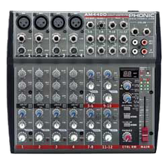 Phonic AM-440D Compact Mixer with DFX