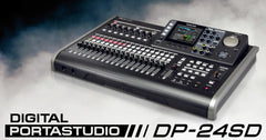 TASCAM DP-24SD	24 TRACK DIGITAL RECORDER