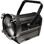 LED Fresnel W/W DMX Zoom - NEW