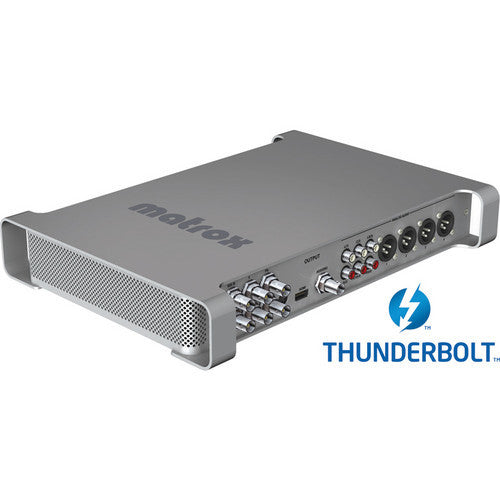 Matrox MXO2 with MAX Thunderbolt
