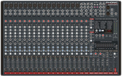 Phonic Mixer 16Mic 4Stereo Chan 4BUS with FX