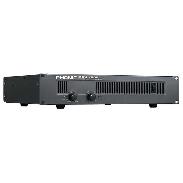 Phonic MAX-1000 600W/RMS TOT@4OHM STEREO POWERAMP - new!