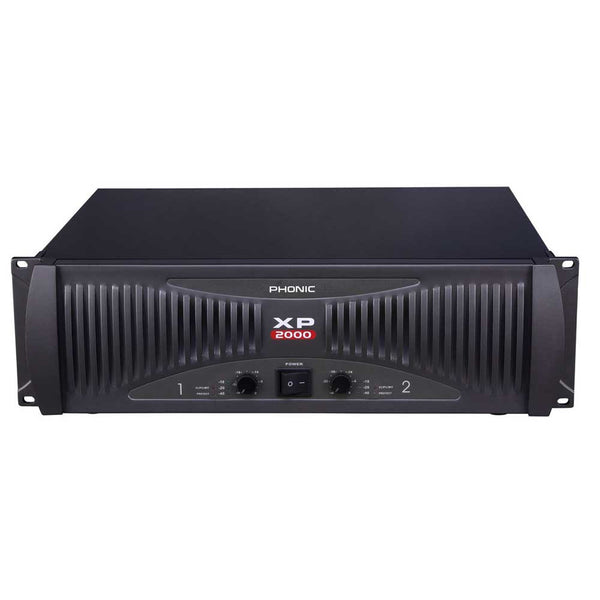 Phonic XP-2000 POWER AMP 960 WATTS PER SIDE INTO 2 OHMS - new!