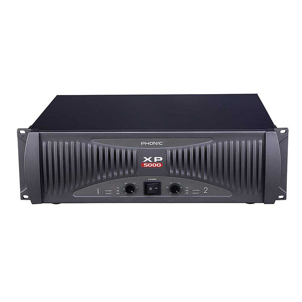 Phonic XP-5000	POWER AMP 2500 WATTS PER SIDE AT 2 OHMS - new!