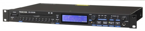 Tascam CD-500B Rackmount CD Player