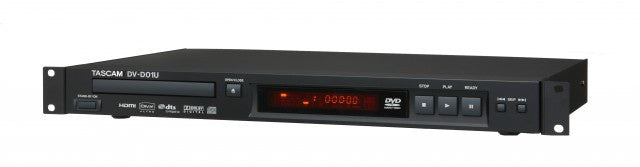 Tascam DV-D01U Rackmount DVD/CD Player
