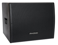Phonic ISK-18SUBADLX	1000W SELFPOWERED 18 SUBWOOFER SPKR SYST - new!