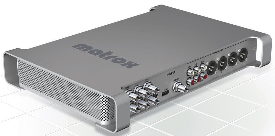 Matrox MXO2 (with desktop and laptop adaptor)
