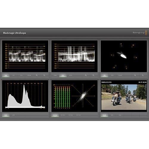 Blackmagic Video Ultrascope