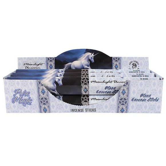 Anne Stokes Moonlight Unicorn Incense Sticks