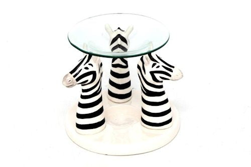 Ceramic Zebra Oil Burner