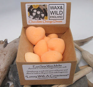 Wax & Wild Box of 20 Melts - Chocolate Orange Dream