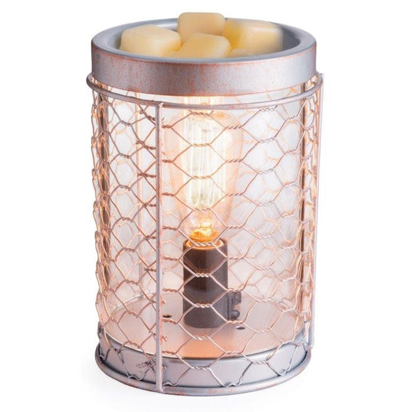 DUE DECEMBER Retro Silver Electric Wax Melter / Aroma Lamp