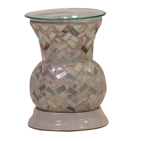 Electric Melt Warmer - Oyster Shell Mosaic