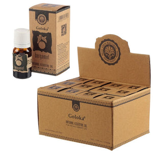 Goloka Natural Essential Oil Bergamot (For Humidifier Diffusers)