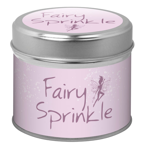 Candle in a Tin - Fairy Sprinkle
