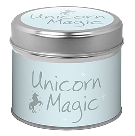 Candle in Tin - Unicorn Magic
