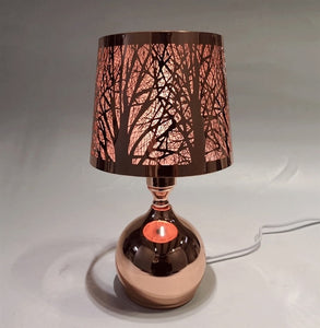Rose Gold Touch Sensitive Aroma Lampshade 27cm
