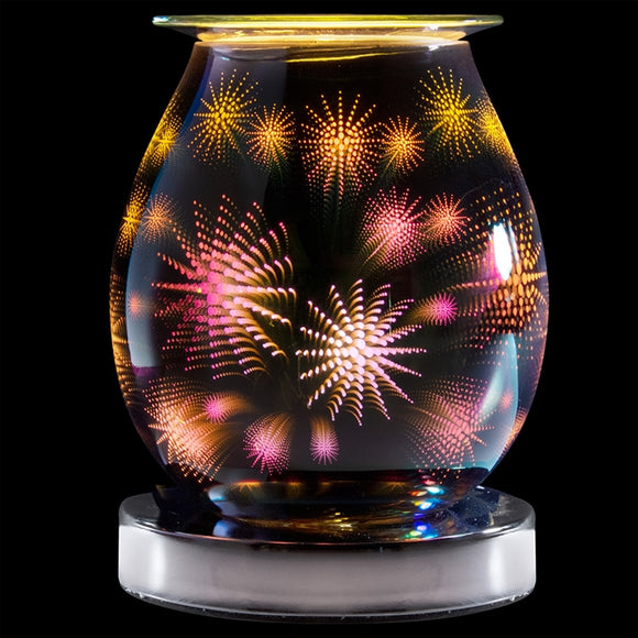 DUE END NOVEMBER Touch Sensitive Round Aroma Lamp - Stars