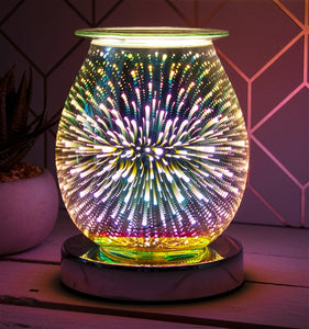 Glass Touch Sensitive Aroma Lamp - Firework