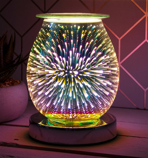 DUE MAY SPAR13 Touch Sensitive Round Aroma Lamp - Firework
