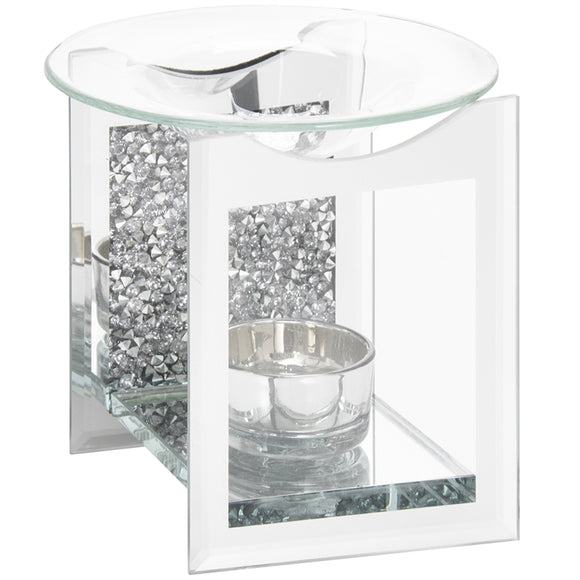 Diamante Crystal Oil Burner 12cm