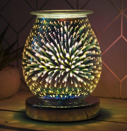 Round Touch Sensitive Aroma Lamp Starburst