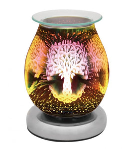 DUE FEB Touch Sensitive Round Aroma Lamp - Tree Of Life