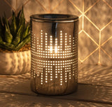 Ceramic Silver Aroma Lamp Dots