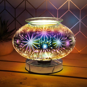 DISPATCHED AFTER 2ND OCTOBER  Touch Sensitive Wide Glass Aroma Lamp Astral