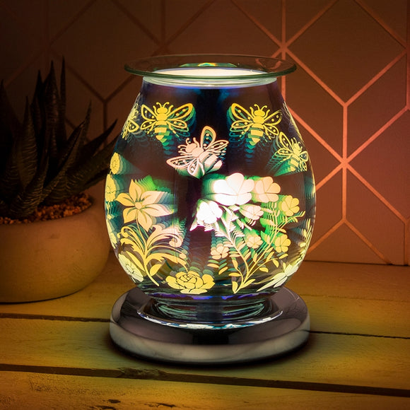 DUE JUNE Touch Sensitive Round Aroma Lamp - Bee