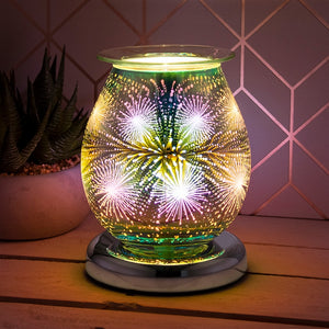 Touch Sensitive Round Aroma Lamp - Starburst
