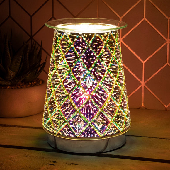 DUE MAY Firework Touch Sensitive Aroma Lamp Lattice