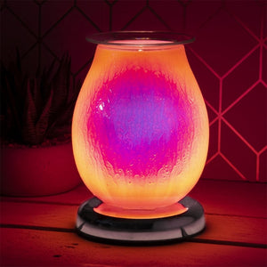 RETURNING NEXT YEAR Touch Sensitive Raindrop Effect Aroma Lamp - Supernova Pink