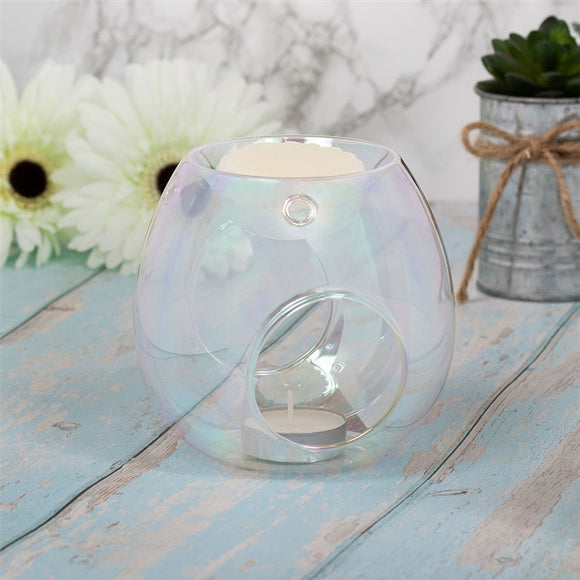 Glass Wax Melter - Clear Lustre
