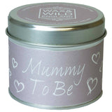 Sentiments Candle in Tin - Mummy To Be