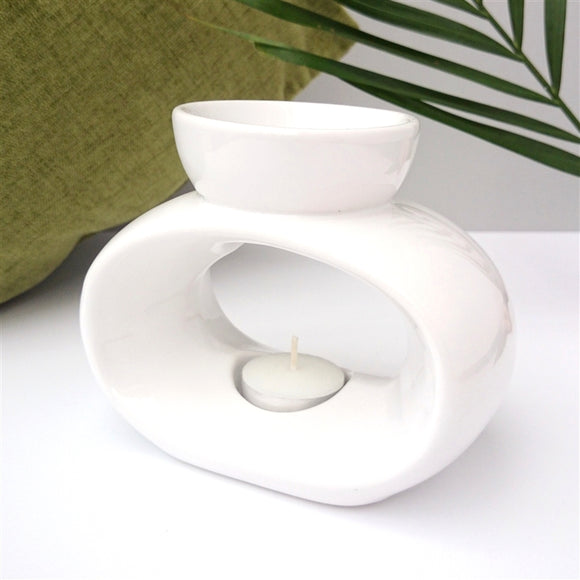 NEXT DUE FEBRUARY Elegance Ceramic Wax Melter - White