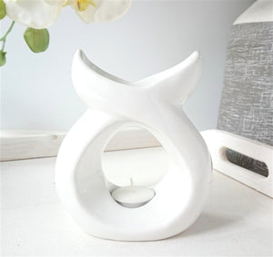NEXT DUE FEBRUARY Serenity Ceramic Wax Melter - White