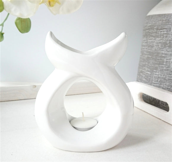 DUE NOVEMBER Serenity Ceramic Wax Melter - White